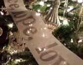 Tree Garland  (9 Yard Roll )-  peace, hope, love