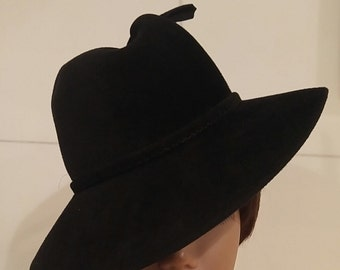 Vintage Henry Pollak Genuine Velour Hat