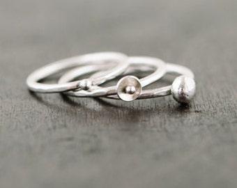 Embellished Stacking Ring