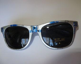 R2Dtown  - Star Wars Inspired White Wayfarer Sunglasses