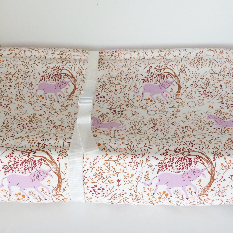 unicorn crib sheet baby bedding girls mini crib sheets. Black Bedroom Furniture Sets. Home Design Ideas