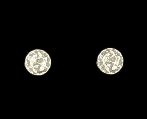 Sterling Silver Zodiac Earrings Picese