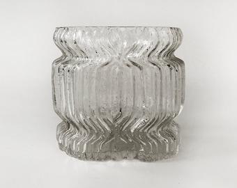 ROSENTHAL Studio-Linie Vase 1970s WIIRKALA STYLE Ice Texture    on sale
