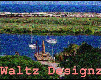 St. Augustine, Florida Inlet Artwork Page