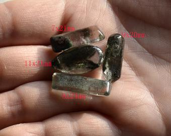 Free shipping wholesale 4pcs Transparent Quartz pendant ,Transparent Quartz,lodolite Quartz Crystal Pendant ,Phantom Quartz pendant