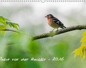 Calendar 2016 - Natur vor der Haustür - German