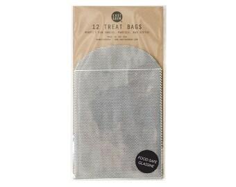 Mini Dot Treats Bags / 12 Glassine Bags