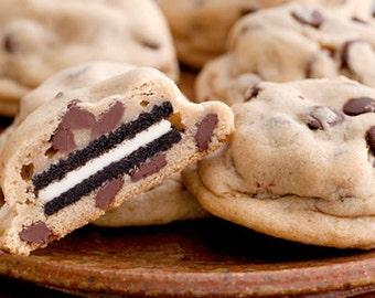 ON SALE  Oreo Stuffed Chocolate Chip Cookies