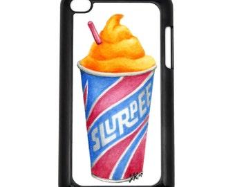 Orange Slurpee Apple iPod Touch 4g Hard Case Original Food Art Choose Case Color
