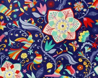 Daydream Kate Spain Arcadia ink moda fabrics FQ or more