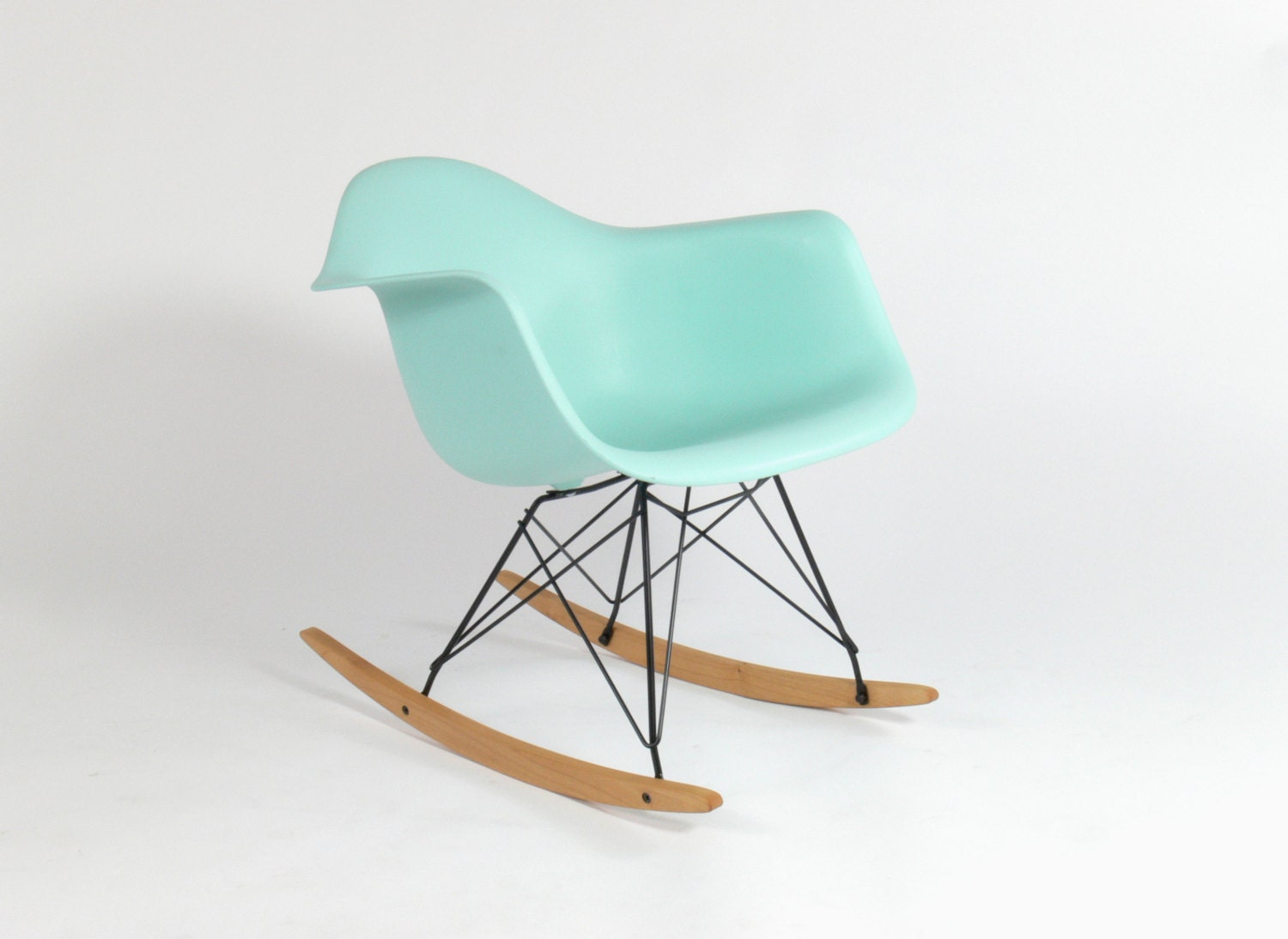 eames for herman miller molded plastic rocking chair rar by comod