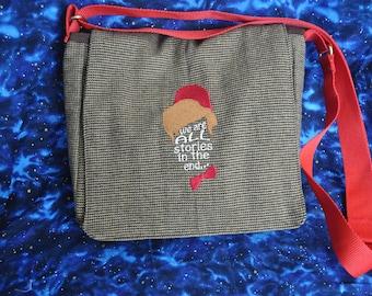 Medium 11th Doctor Who Inspired Messenger Bag