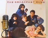 """The Breakfast Club Vinyl Record LP 1980s Pop Culture Brat Pack Movie Soundtrack """"The Breakfast Club""""(1985 A&M w""""Don't You Forget About Me"""")"""