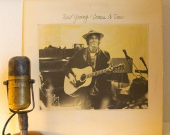 "ON SALE Neil Young Vinyl Record LP 1970s Classic Rock ""Comes A Time"" (Original 1978 Reprise Records Msk 2266, ""Lotta Love"",""Look Out for My"