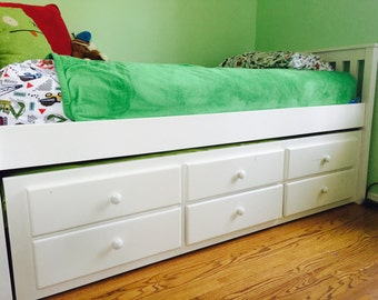 Handcrafted Captain Storage Bed