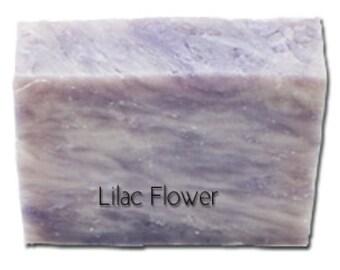 Lilac Flower Handmade Soap, all natural soap, homemade soap, Vegan Soap, Exfoliating Soap