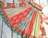 Bungalow Coral Mint Twirl Dress