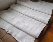 Vintage European Linen Runner or Towel