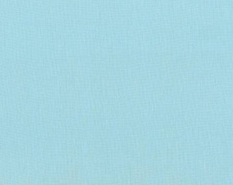 Azure Blue Washable Yarn Dyed Rayon Linen, Brussels Washer Linen Blend Collection By Robert Kaufman, 1 Yard