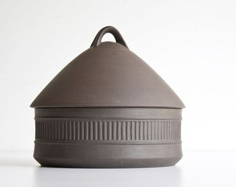 Vintage Modern Dansk Flamestone Beehive Dish