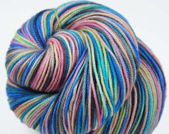 KIHEI SUNSET Superwash Merino/Nylon Hand-dyed Variegated Sport weight yarn
