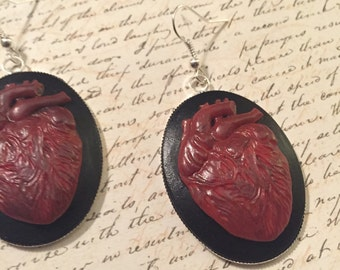 Bleeding Heart - earrings
