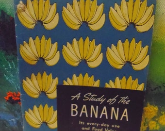 1940 The Study of the Banana Cookbook