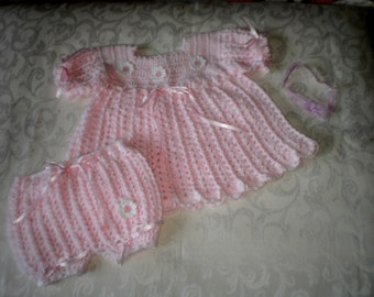 Soft Pink 2 Piece Baby Set for 12 to 18 Months