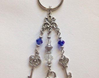 Lock and key Key Chain,key chain, accessories, Gift idea, For Her