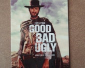 Magnet- The Good, The Bad and The Ugly  1966 movie poster magnet