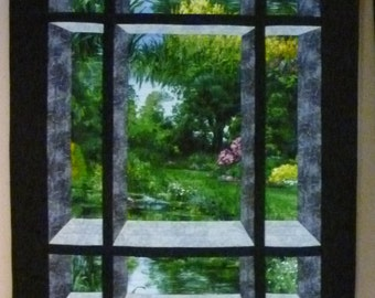 Scenic View 1 Quilted Wallhanging