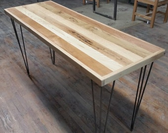 Reclaimed Wood Table Reclaimed Wood Desk Mixed Wood