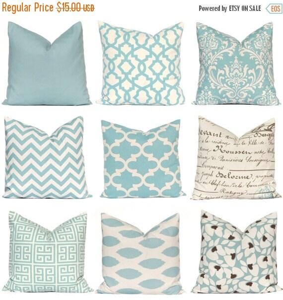 Smoke Blue Throw Pillow : Sale Decorative Pillow Throw Pillow Pillows by CompanyTwentySix