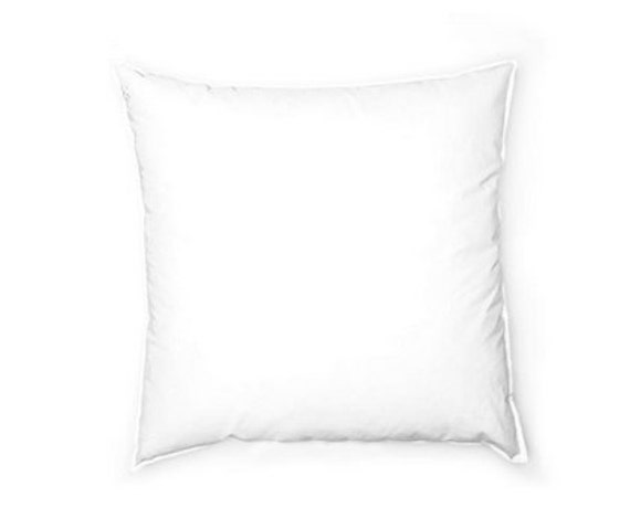 pillow insert 18 x 18 square pillow form decorative. Black Bedroom Furniture Sets. Home Design Ideas
