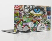 If They Don't Let us Dream Graffiti Laptop Skin