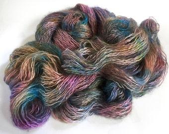 Changeling Silk Kid Mohair Yarn.  Jewels For A Mermaid Queen