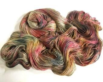 Sea Nymph Silk SeaCell Yarn. Will O The Wisp
