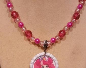 Shopkins Shoppies  Handmade Beaded Necklace