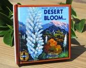 Small Journal - Desert Bloom Grapefruit  - Fruit Crate Art Print Cover