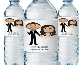 Wedding Water Bottle Labels, Wedding Bottle Labels, Custom Water Bottles, Wedding Water Bottle, Personalize Water Bottle Labels, Water Label