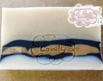 Lovely / Acrylic Soap Stamp ( Soap Republic )