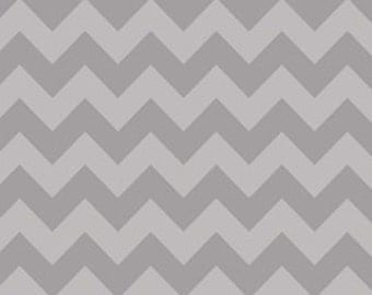 Fabric, fabric by the yard,gray on gray  Chevron Ships Today