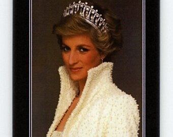 A very pretty refrigerator magnet ... Princess Diana