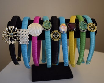 Colorful ribbon headbands - Available in multiple colors