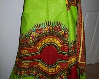 Lime green dashiki fabric wholesale/ Dashiki clothing/ Accessories/ Dashiki Bags/ Angelina Dresses/ Kitenge fabric/ Dashiki panels