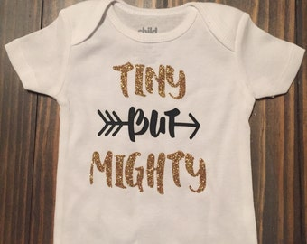 Tiny but mighty bodysuit
