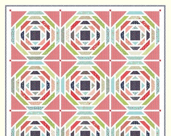 Vintage Picnic - Playful Quilt Pattern by Bonnie Olaveson for Cotton Way