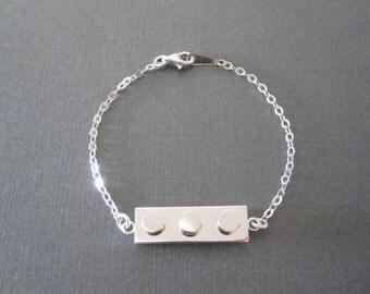 Lego Brick Bracelet
