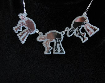 Star Wars Inspired AT-AT Walker necklace