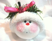 NAIL TECH Gift Ornament Sparkle Pink Polish Christmas Townsend Custom Gifts - F